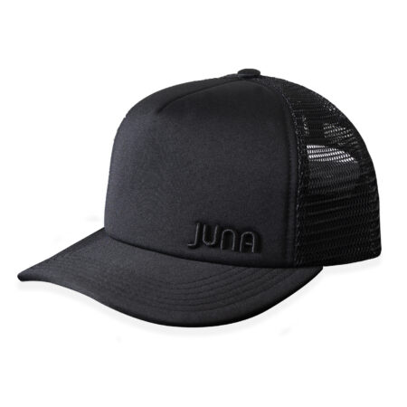 JUNA - TRUCKER CAP (BLACK)